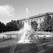 Purdue University Loeb Fountain Art Print by University Icons