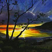 Purdy Sunset Art Print