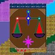 Pure Decoration Zodiac Symbol Art Art Print
