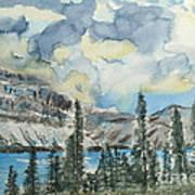 Pure North - Bow Lake Alberta Art Print