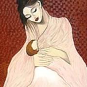 Purest Form Of Love Art Print by Rejeena Niaz