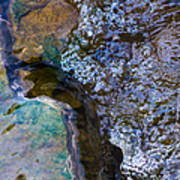 Purl Of A Brook 1 - Featured 3 Art Print