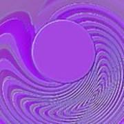 Purple Alchemy Art Print