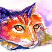 Purple Buddy Art Print