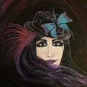Purple Butterfly Art Print