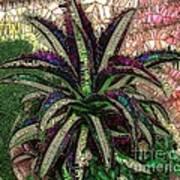 Purple Cactus II Art Print