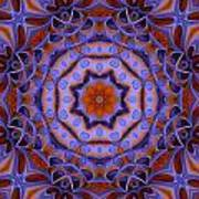 Purple Design 2 Art Print