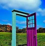 Purple Door - Alternate Reality - Canada Art Print
