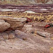 Purple Earth Art Print