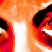Purple Eyes - Marcello Cicchini Art Print