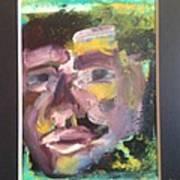 Purple Man Art Print
