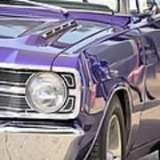 Purple Mopar Art Print