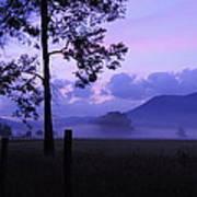 Purple Mountain Majesty Art Print