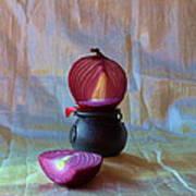 Purple Onion Art Print