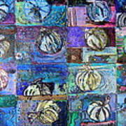 Purple Onions Art Print
