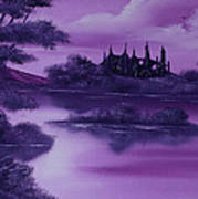 Purple Palace For Sale Art Print