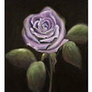 Purple Passion Art Print by Nancy Edwards