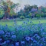 Purple Season Art Print
