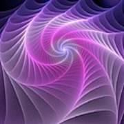 Purple Web Art Print