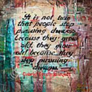 Pursuing Dreams Art Print
