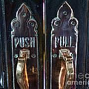 Push And Pull Art Print