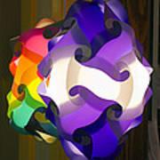 Puzzle Lamp Art Print