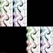 Puzzled 2 Art Print