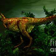 Pycnonemosaurus Was A Carnivorous Art Print