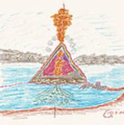 Pyramid Lake - Nevada Art Print
