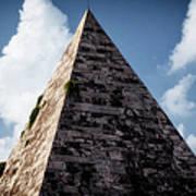 Pyramid Of Rome II Art Print