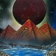 Pyramids 4663 Art Print