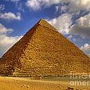 Pyramids Of Giza 28 Art Print