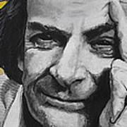 Qed- Richard Phillips Feynman Art Print