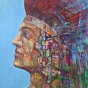 Qu-say-u Anasazi Warrior Art Print