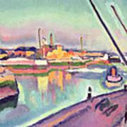 Quai Notre Dame Le Havre Art Print