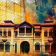 Quaid -e Azam House Flag Staff House Art Print