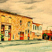 Quantrill's Flea Market - Lawrence Kansas Art Print