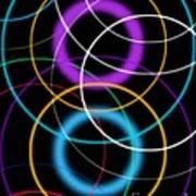 Quantum Physics, Conceptual Artwork Art Print