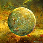Quantum Soul...orb Of Light Art Print