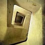 Square Staircase Art Print