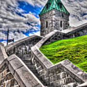 Quebec City Fortress Gates Art Print
