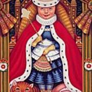 Queen Alice, 2008 Oil And Tempera On Panel Art Print