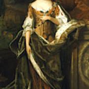 Queen Anne Of England (1665-1714) Art Print