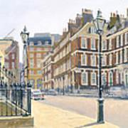 Queen Annes Gate Oil On Canvas Art Print
