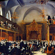 Queen Caroline Trial, 1820 Art Print