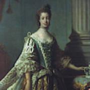 Queen Charlotte (1744-1818) Art Print
