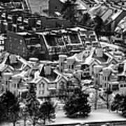 Queen City Winter Wonderland After The Storm Series 0028a Art Print