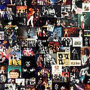 Queen Collage Art Print