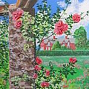 Queen Gardens In Belfast Art Print