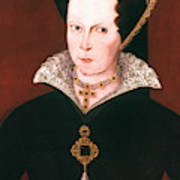Queen Mary I Of England Art Print